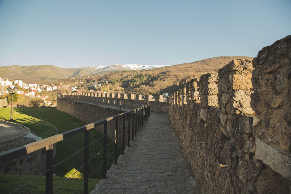 Ruta por las murallas de Béjar